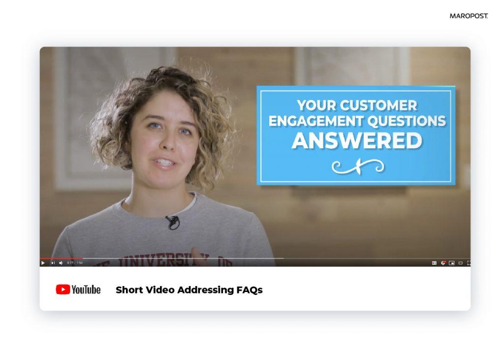 Marketing FAQ Video