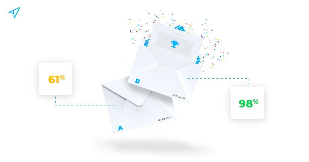 Split test your email campaigns