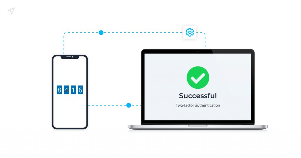 Two-factor authentication Pin Code requests