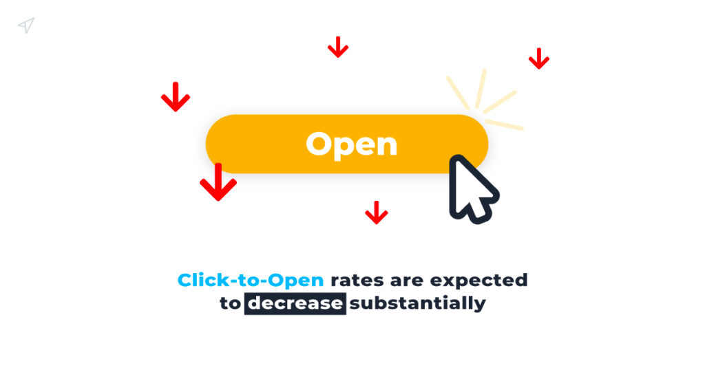 Click-to-open rates might decline