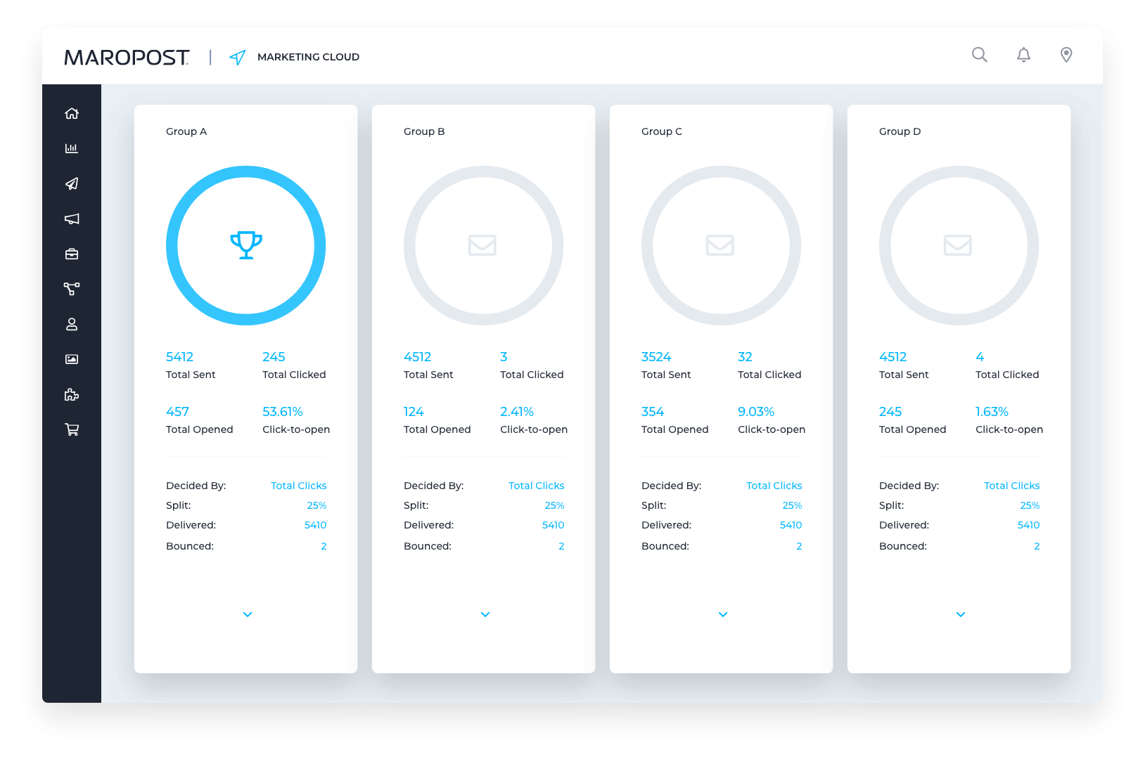Data-Driven Email