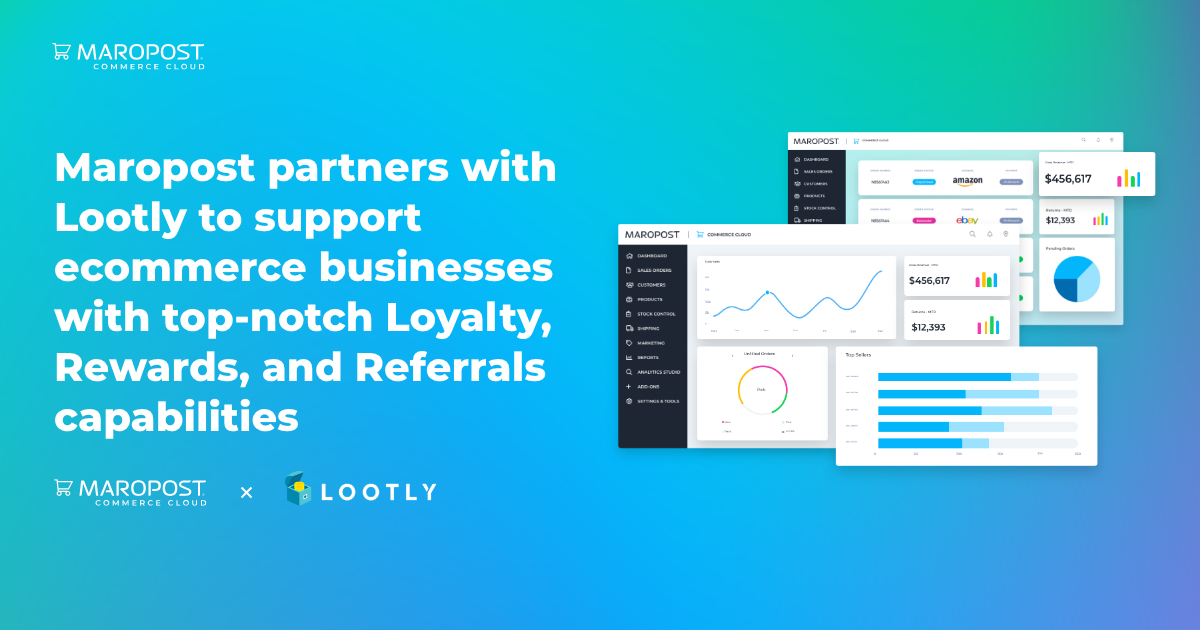Maropost partners with Lootly to support ecommerce businesses with top-notch Loyalty, Rewards, and Referrals capabilities
