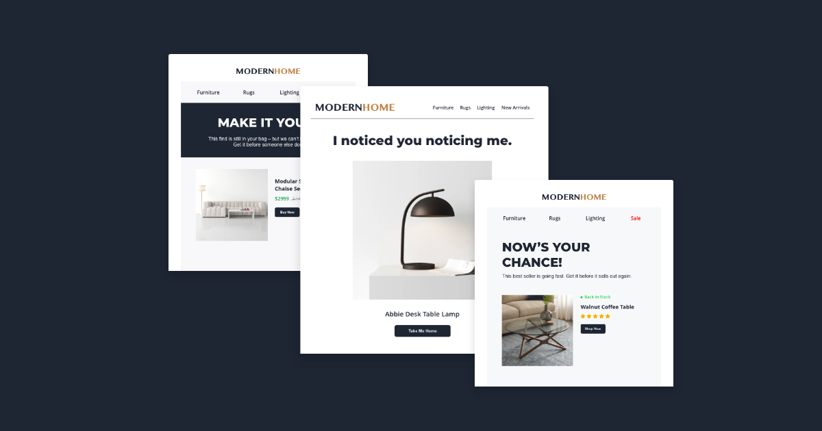 5 E-Commerce Email Marketing Examples that Convert