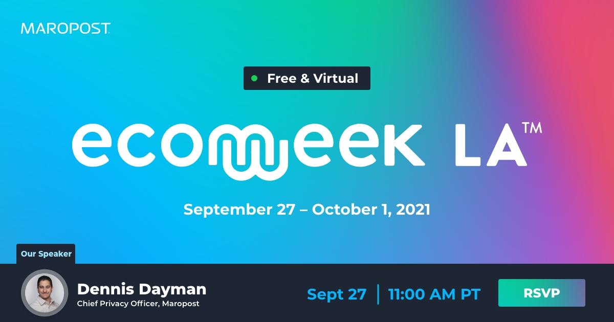 Ecommerce Week LA Maropost