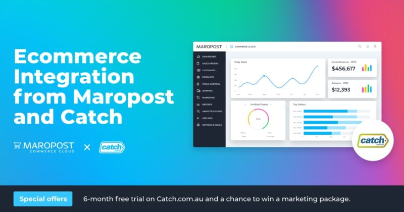 Maropost partners with Catch